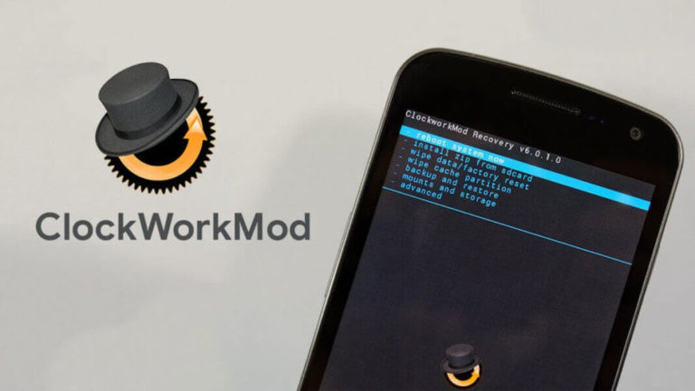 Install ClockworkMod on Android using IMG File