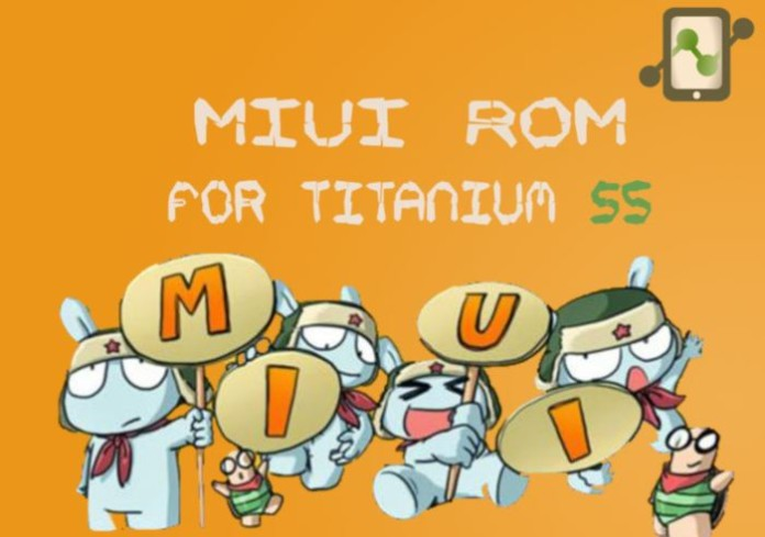 MIUI ROM for Titanium S5