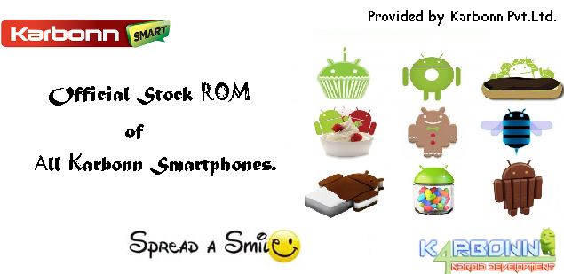 Stock rom for karbonn mobile