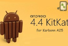 Android kitkat custom ROM for Karbonn A25