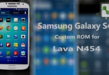 Galaxy S4 ROM for Lava N454