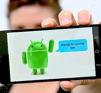 Increase internal memory of Android
