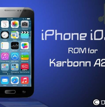 iPhone iOS6 ROM for Karbonn A25