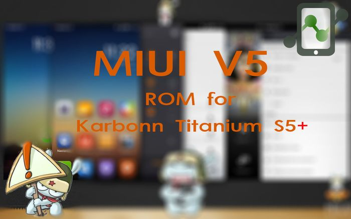 MIUI ROM for Titanium S5+