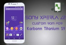 Xperia Z2 Custom ROM for Titanium S9