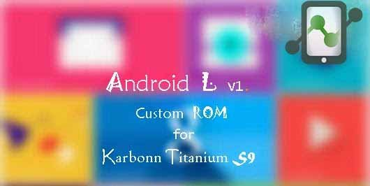 Android Lollipop rom for Titanium S9