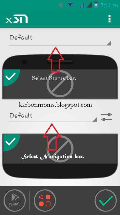 Get Android L Statusbar