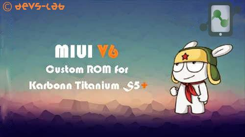 MIUI for Kabonn S5+
