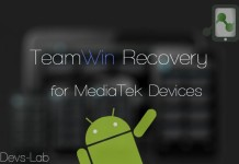 How to Install TWRP recovery for Mediatek devices.