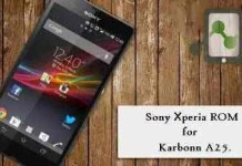 Xperia Z1 custom rom for Karbonn A25