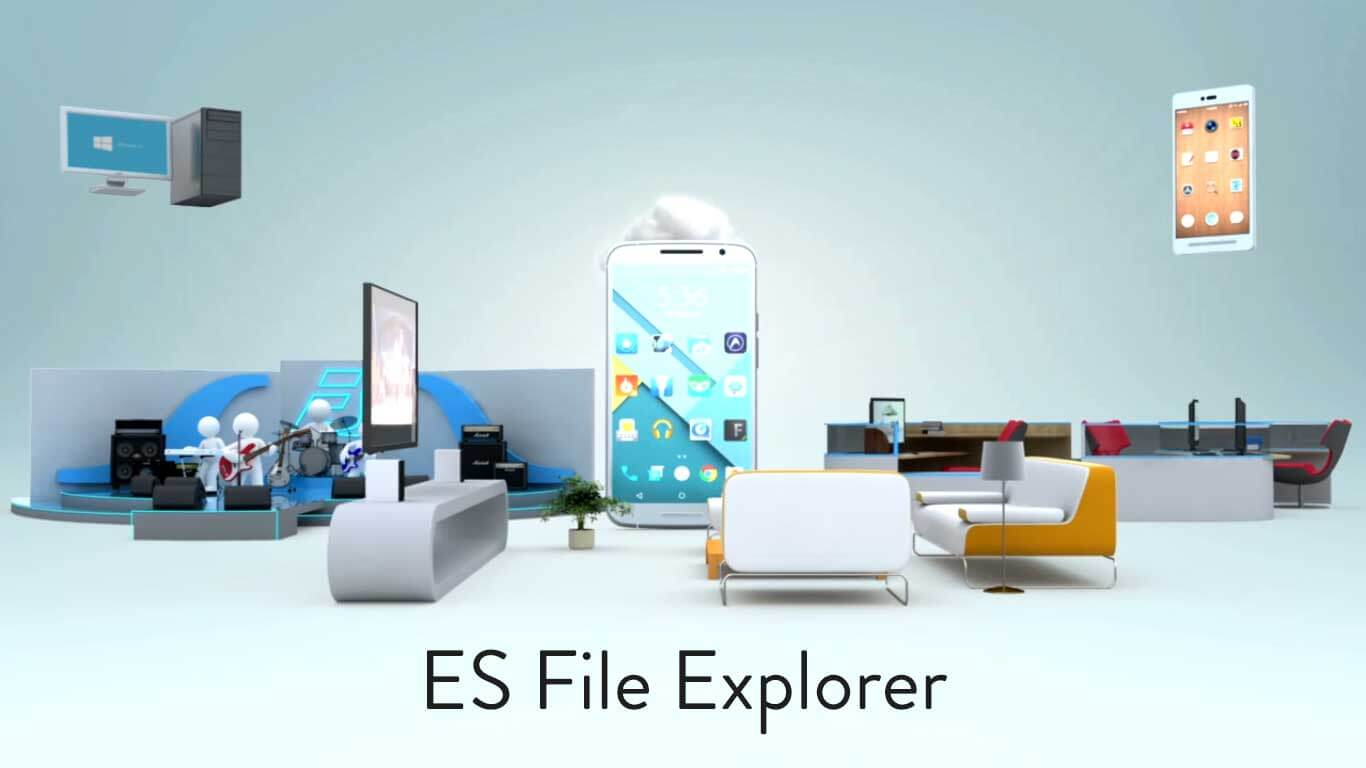ES File Explorer - Best Apps for Rooted Android
