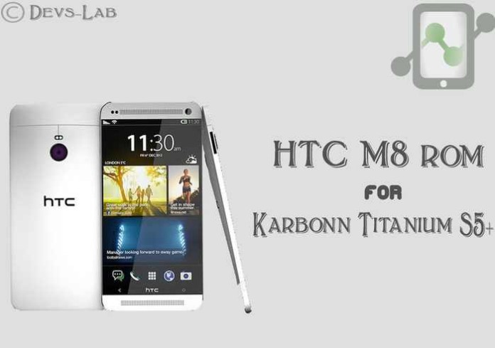 HTC ROM for Titanium S5+