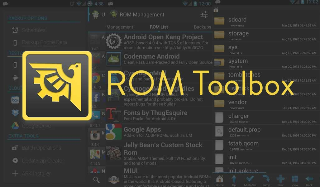ROM Toolbox for Android - Best Root Apps for Android