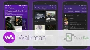 Sony Xperia Z3 Walkman for all Android with Material designSony Xperia Z3 Walkman for all Android with Material design