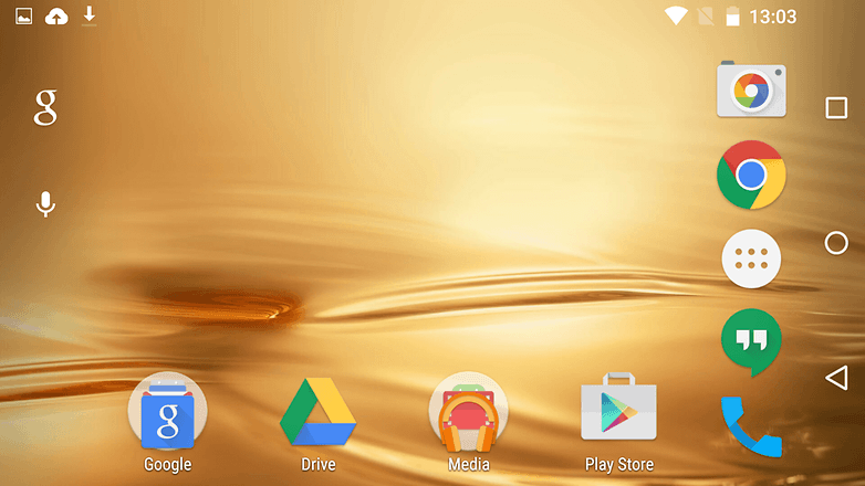 Android M Homescreen Rotation Update