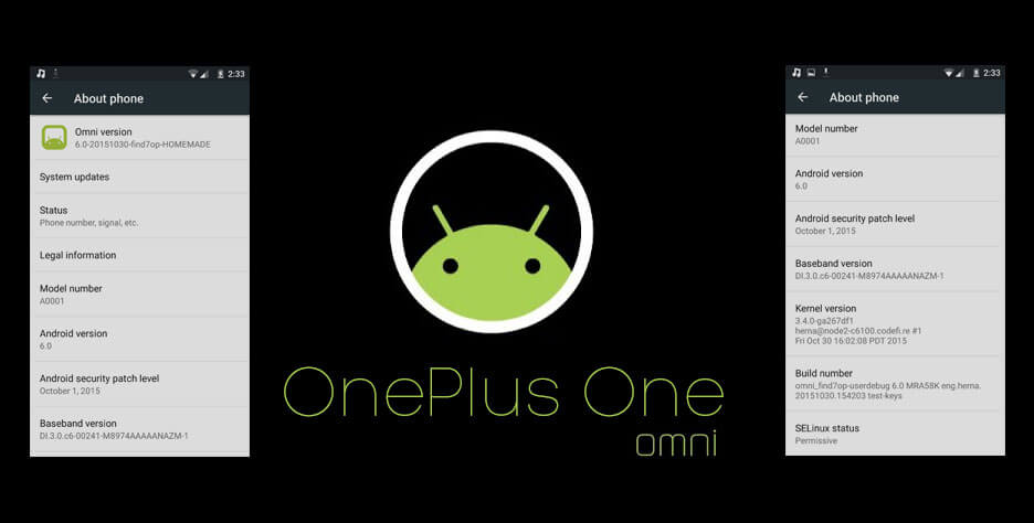 Omni ROM for OnePlus One