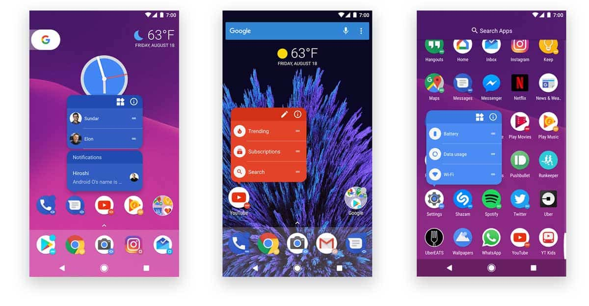 Action Android Launcher