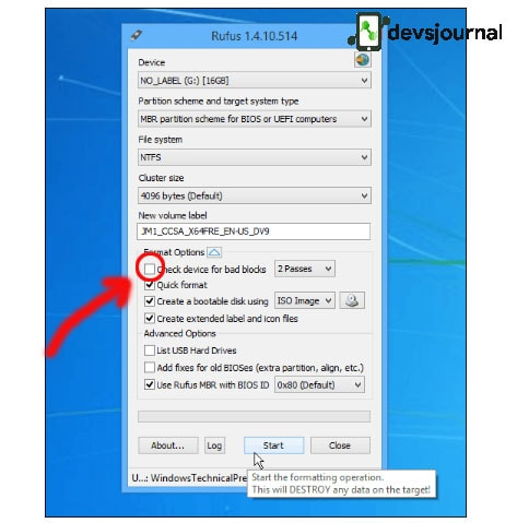 Create Bootable Drive Windows 10 Rufus