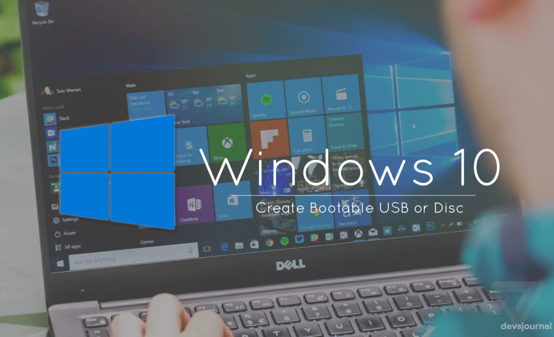 5 Methods to Create Bootable Windows 10 USB or Disc