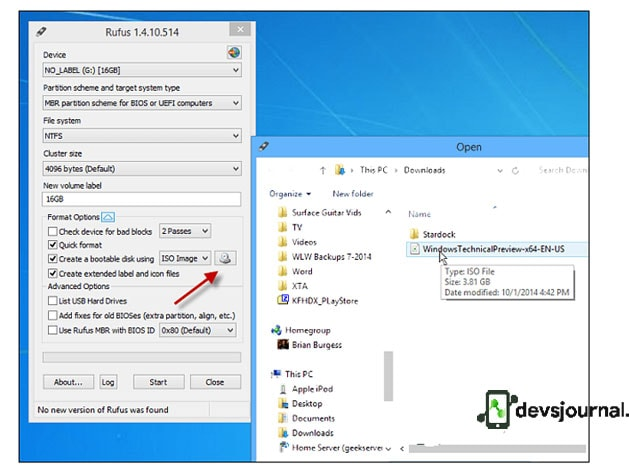 How to use Rufus to create Windows 10 Bootable USB Pendrive