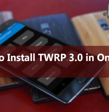 Install TWRP 3.0 and root OnePlus 2