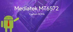 List of all Custom ROMs for MediaTek Mtk6572 Ext4 & Ubifs