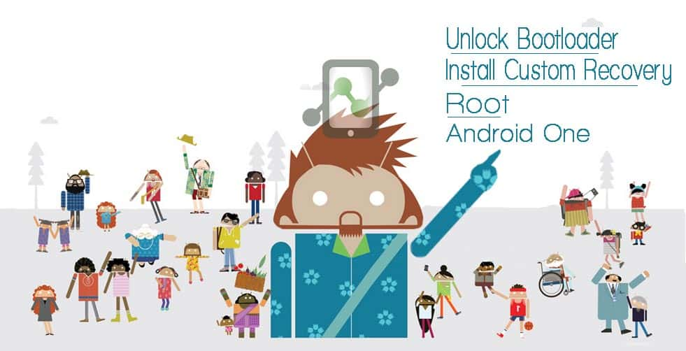 Unlock Bootloader, TWRP & Root: Android One All in One Tool