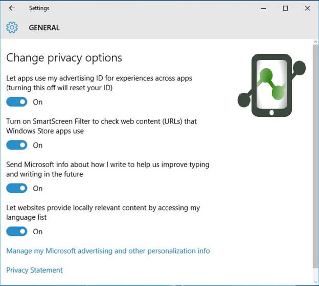 Manage Your Privacy Settings
