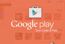 Google Play Store Error Codes & Fixes