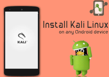 Install Kali Linux on any Android device.