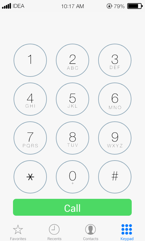 CleanUI Dialer