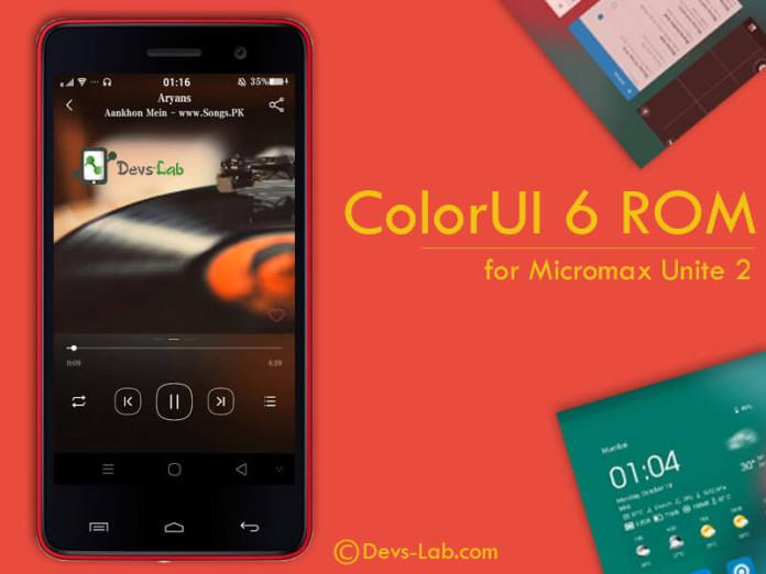 ColorUI 6 ROM