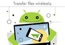 Transfer files wirelessly