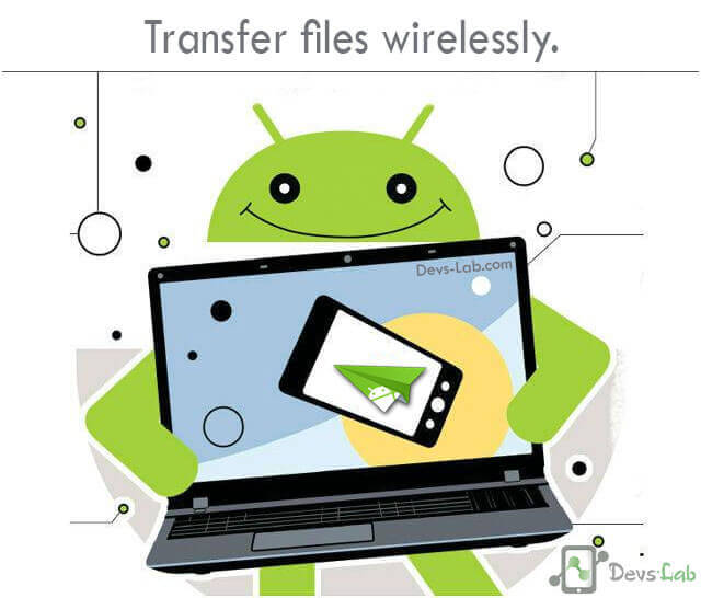 Transfer files wirelessly