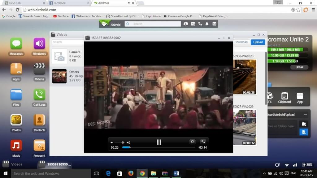 Airdroid Video Player