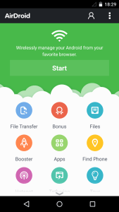 airdroid home