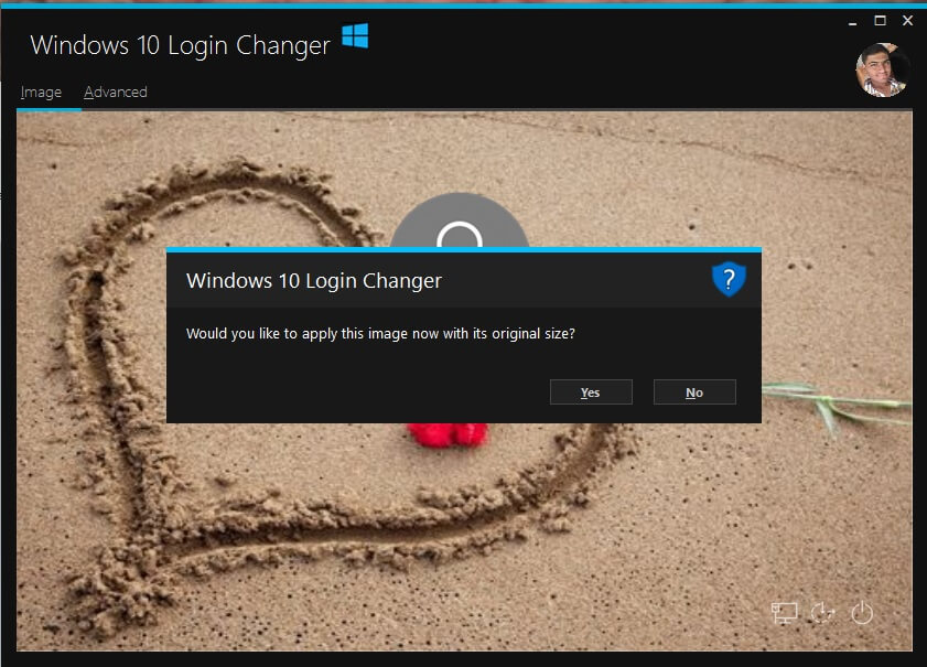 how to change logon background on windows 10