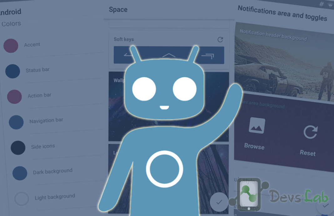 Create your own Cyanogenmod theme
