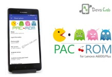 PacROM for Lenovo A6000/Plus