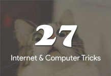 27 Internet & Computer tricks you might now know
