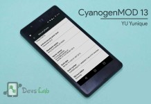 CyanogenMod 13 ROM for YU Yunique