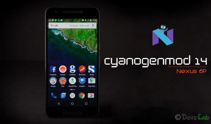 Cyanogenmod 14.1 (cm 14) ROM for Google Nexus 6p