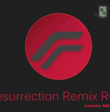 Resurrection Remix ROM for Lenovo A6000Plus
