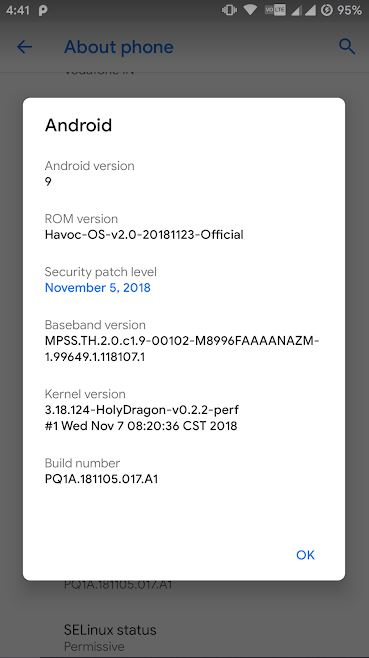 Havoc 2.5 Android 9.0