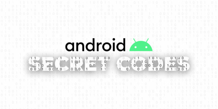 List of Android Secret Codes