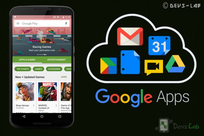 Google Apps GApps for Android Marshmallow 6.0.x