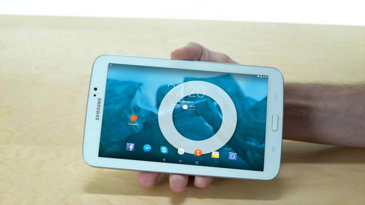 5 1 1] Cyanogenmod 12 1 ROM for Samsung Galaxy Tab 3 7 0