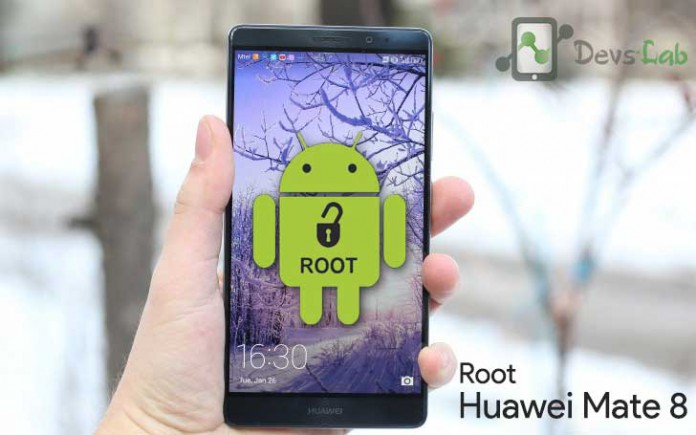 unlock bootloader, install twrp, root Huawei Mate 8