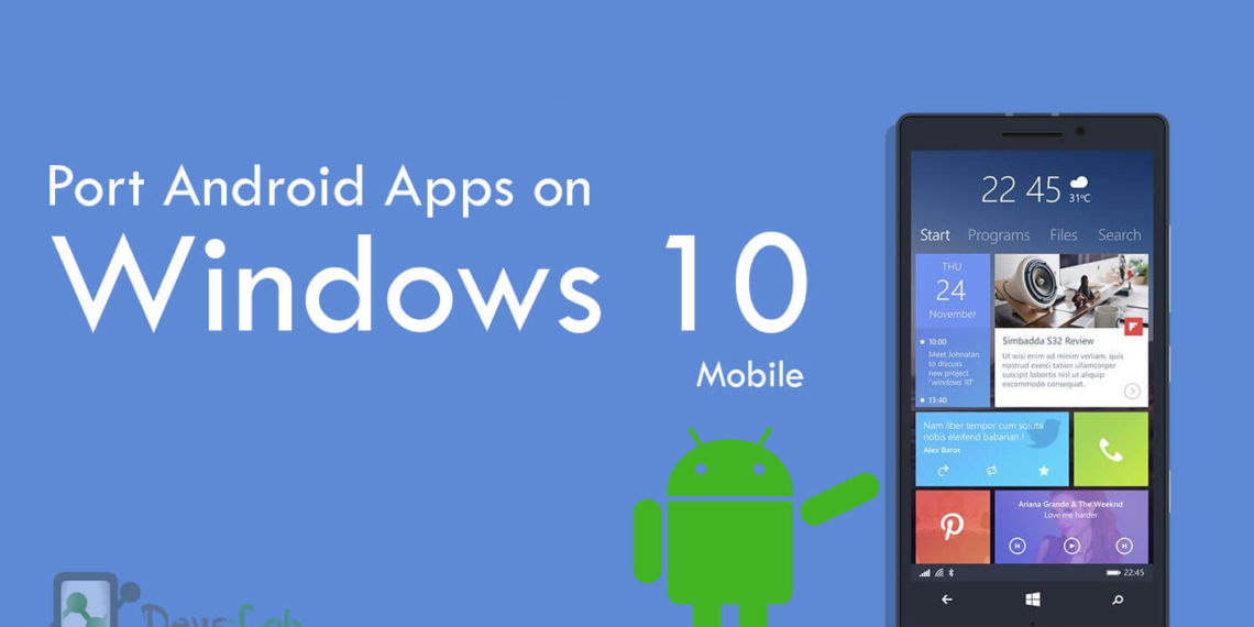 Install android windows mobile