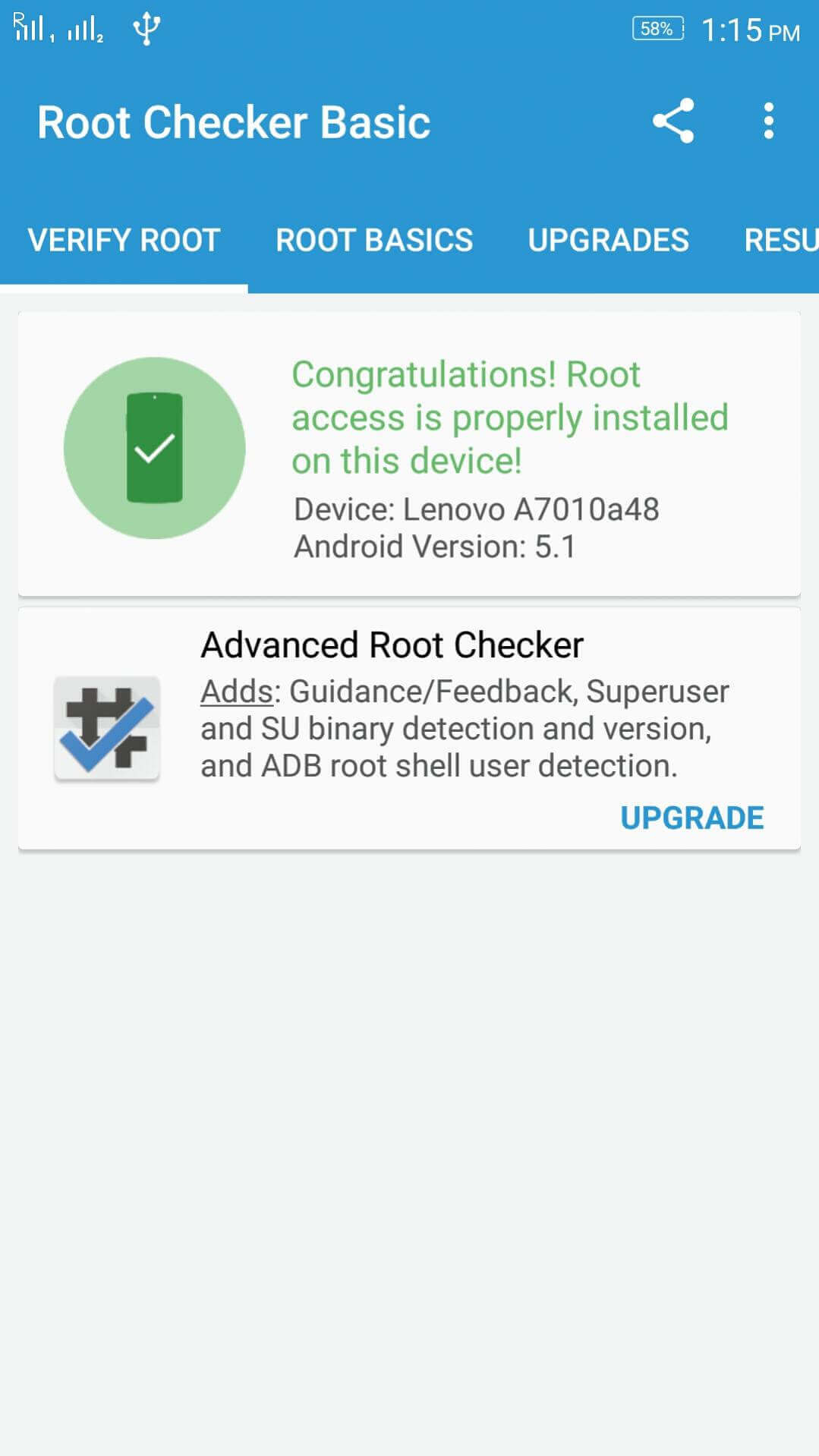 Rooted Lenovo K4 Note